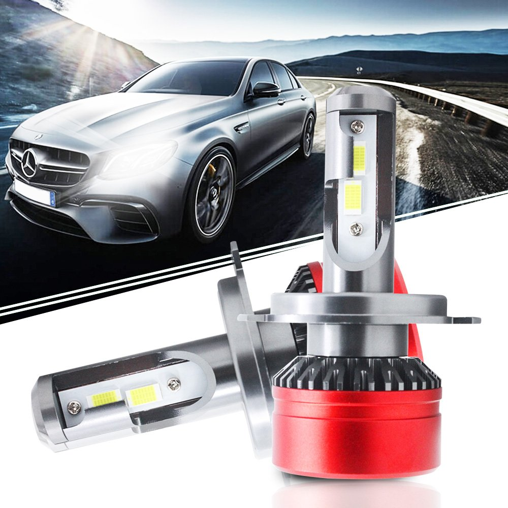6000LM H8 H9 H11 H16JP LED Headlight Bulb All-in-One Conversion Kit 60W Led Fog Lights Replace Halogen Bulbs Honda Civic Si Ex Sedan Hatchback Pilot Touring CR-V Odyssey Accord Coupe Sport QUAKEWORLD