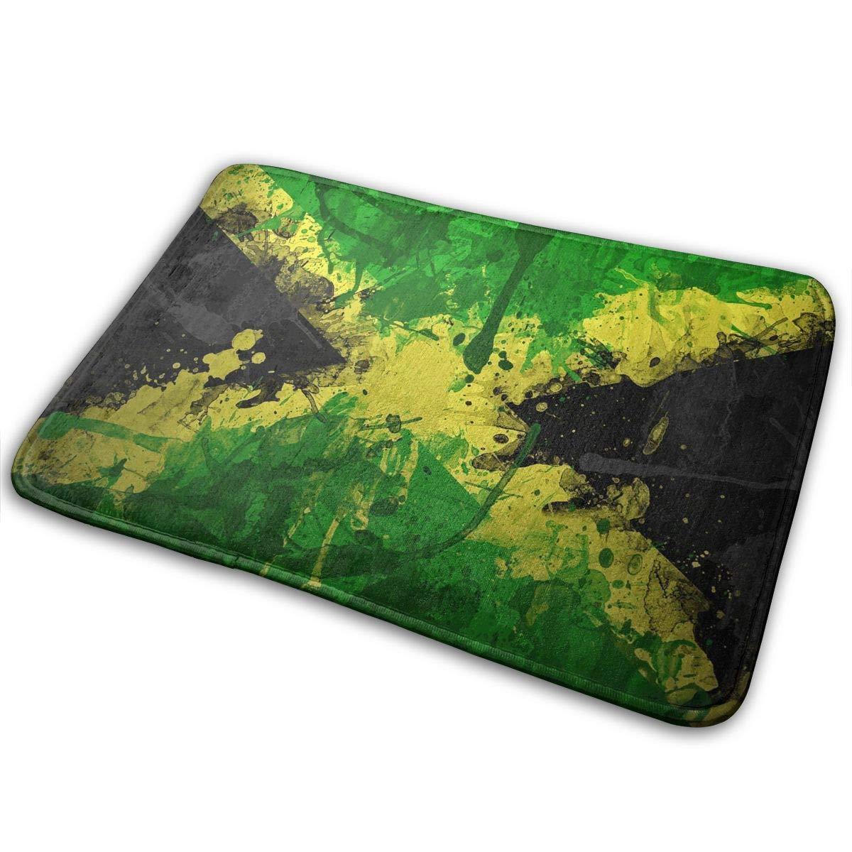 Uosliks Bandera de Jamaica Antideslizante Lavadora de Puertas ...