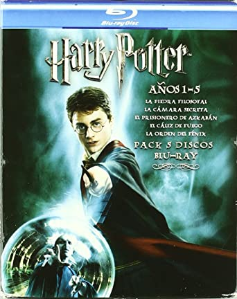 Baúl Harry Potter (1-5) [Blu-ray]: Amazon.es: Daniel Radcliffe ...