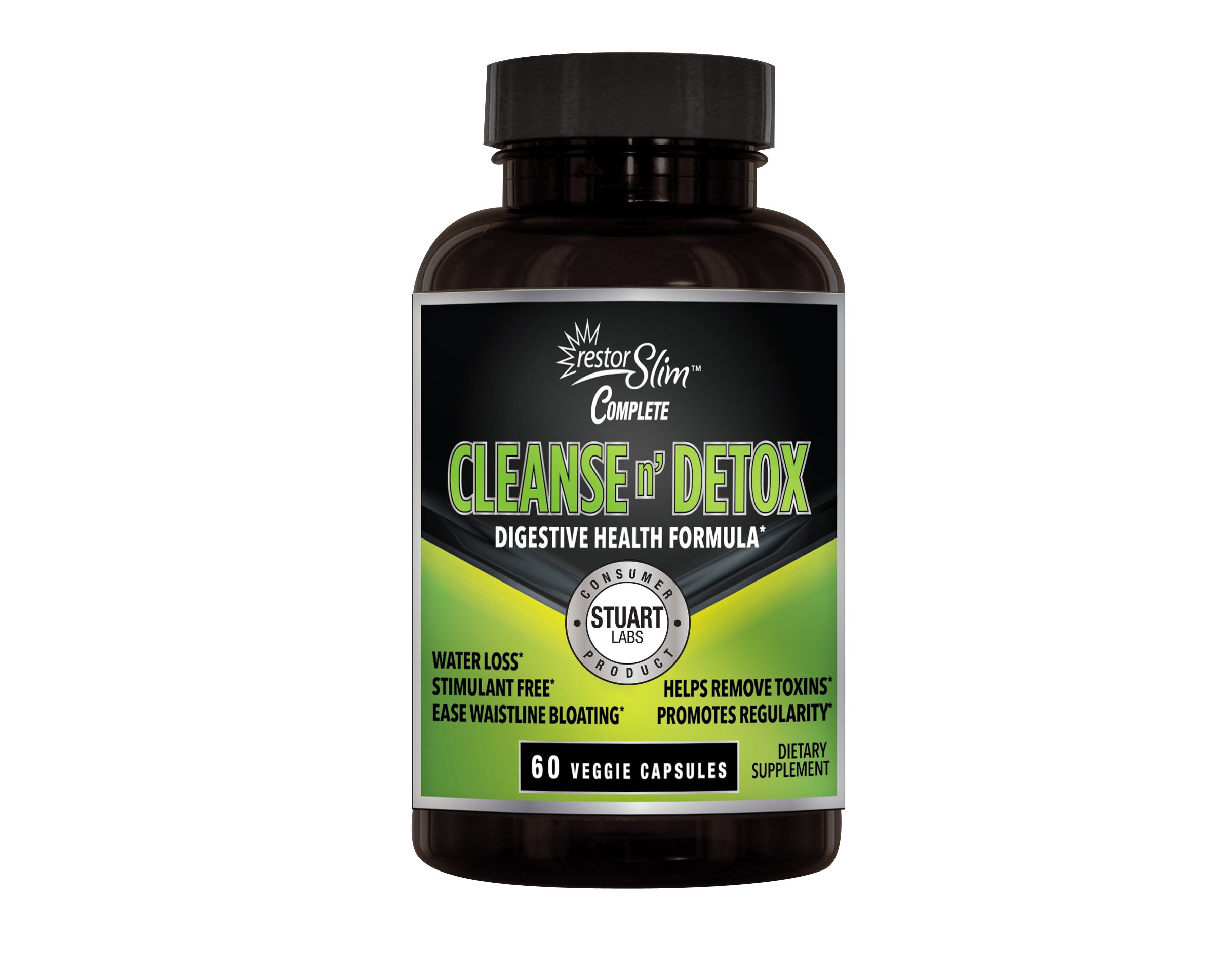Restor Slim Cleanse and Detox (2 pack)- By Stuart CP Labs.