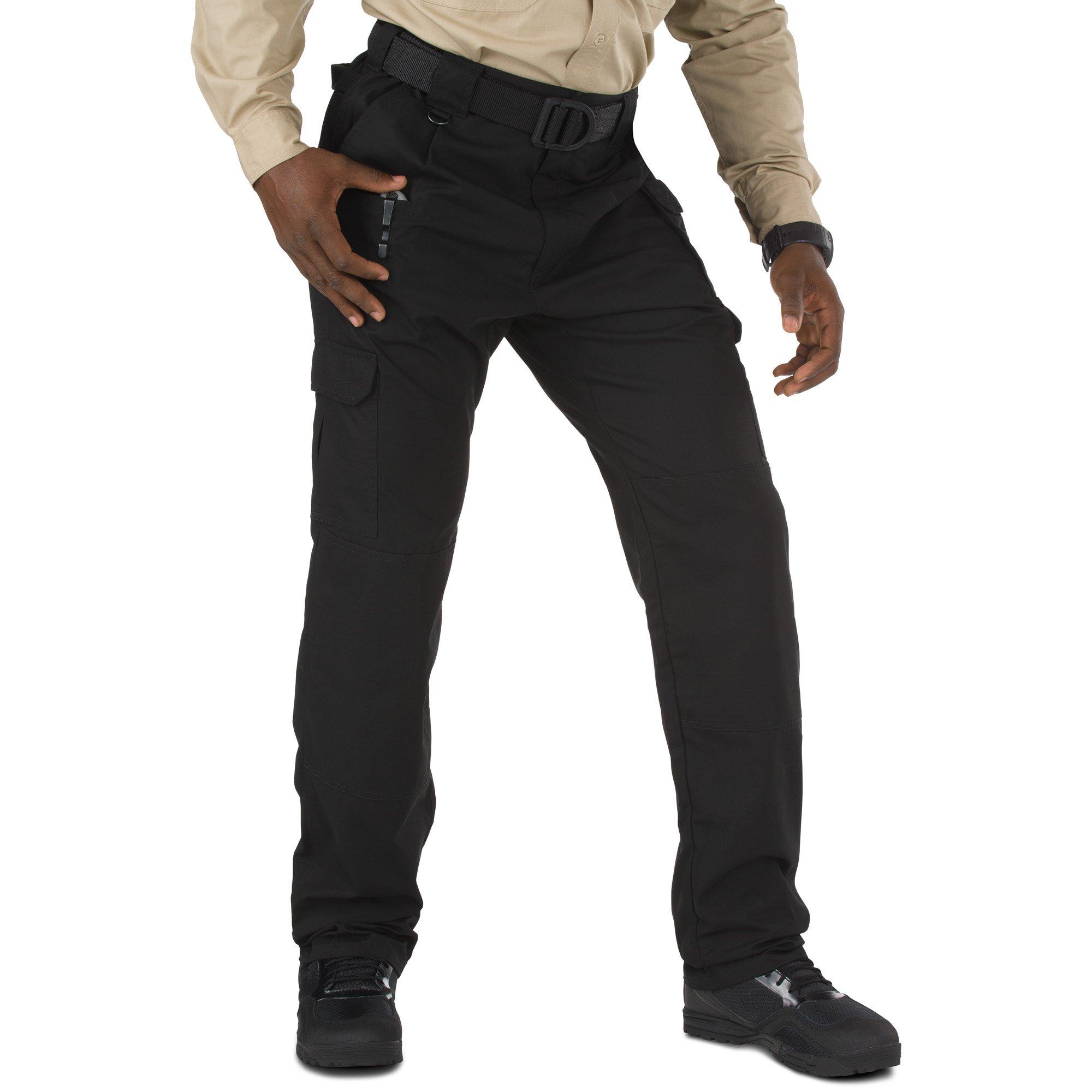 5.11 Men's Taclite Pro Tactical Pants, Style 74273, Black, 50W Unhemmed by 5.11