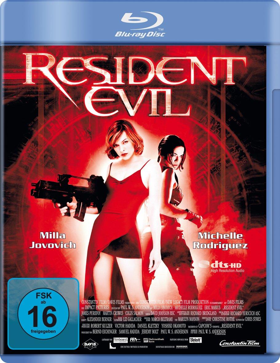 Resident Evil [Alemania] [Blu-ray]: Amazon.es: Jovovich, Milla, Mabius, Eric, Rodriguez, Michelle, Purefoy, James, Anderson, Paul, Jovovich, Milla, Mabius, Eric: Cine y Series TV