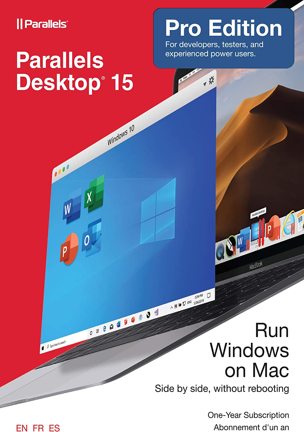 Parallels Desktop Pro 15 for Mac [Mac Online Code] [Old Version]