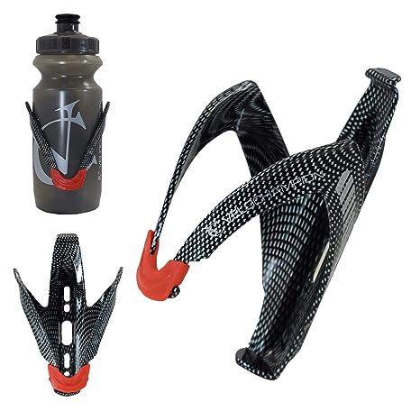 EXCELLENT Time Trial Aero Water Bottle /& Carbon Fibre Cage Kit
