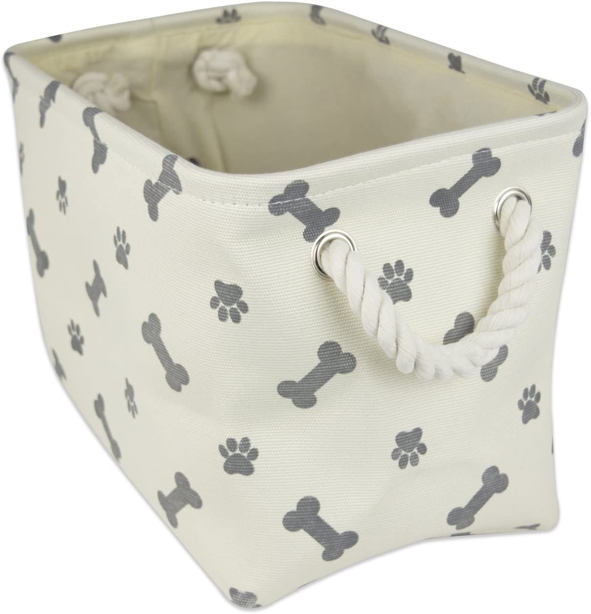 Bone Dry DII Medium Round Pet Toy and Accessory Storage Bin