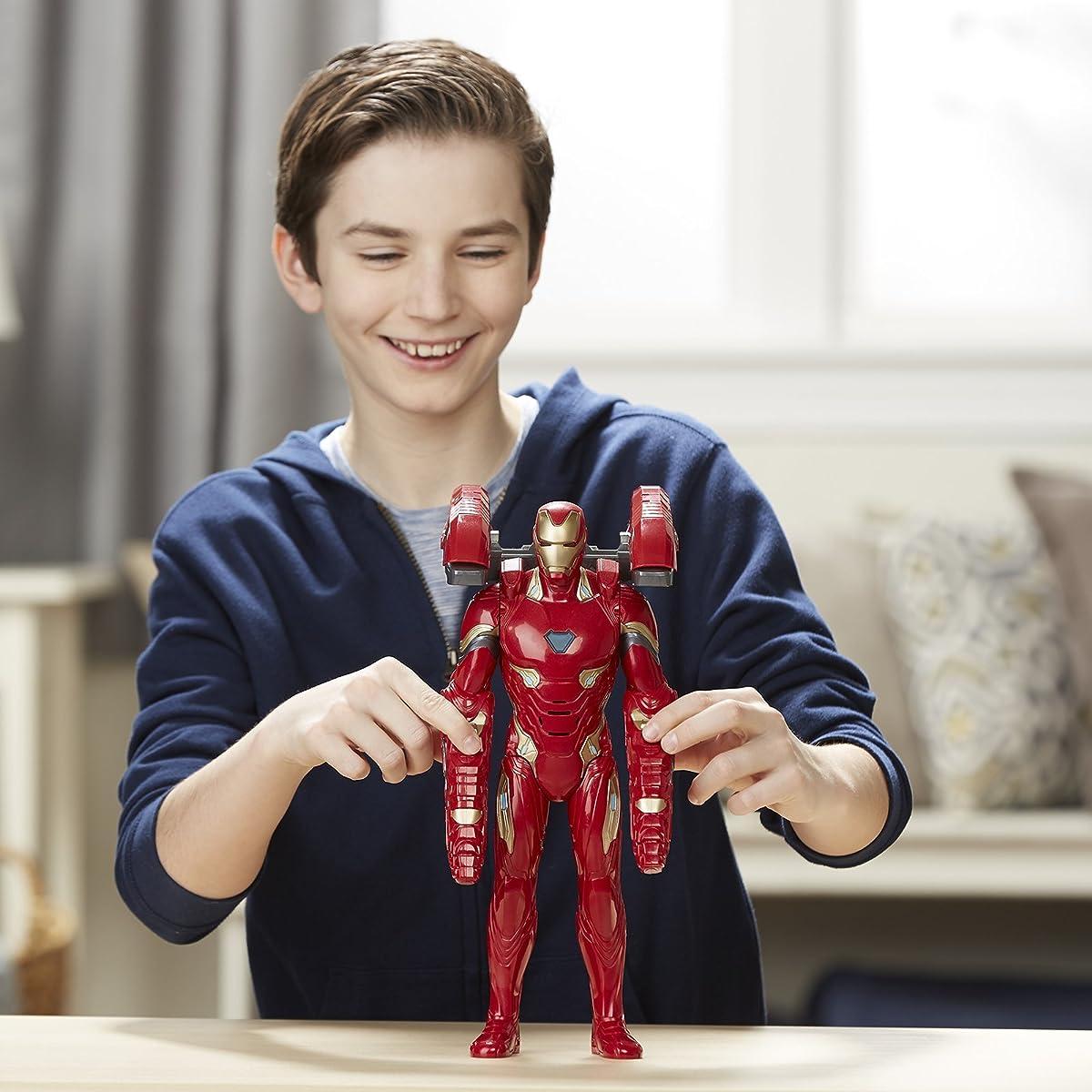 Marvel Avengers: Infinity War Mission Tech Iron Man Figure