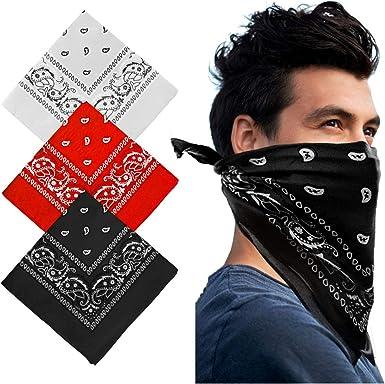 Yakasu - Bandana para la cabeza, pañuelo para el cuello, 100 ...