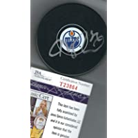 $189 » Autographed Connor McDavid Edmonton Oilers Hockey Puck with JSA COA