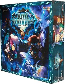 Rail Raider Infinite Board Game: Amazon.es: Juguetes y juegos
