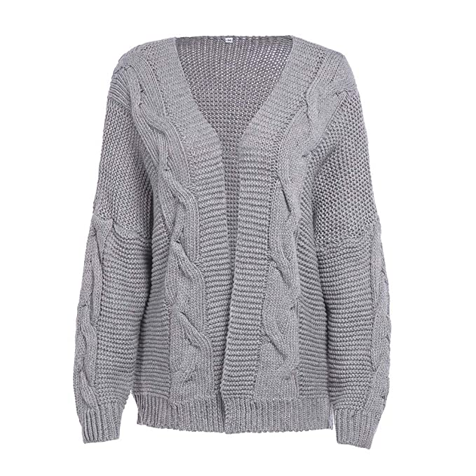 great prices clear and distinctive superior quality VEZAD Women Baggy Cardigan Coat Knitted Sweater Winter Long ...