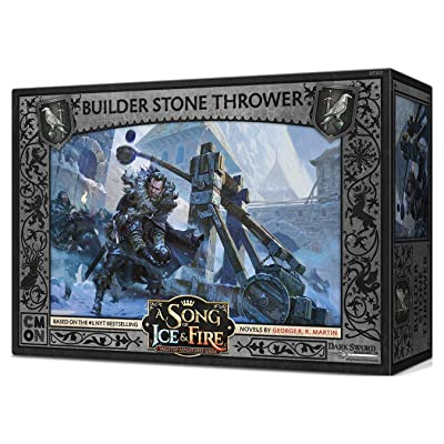A Song of Ice & Fire: Night'S Watch Stone Thrower Crew: Toys & Games