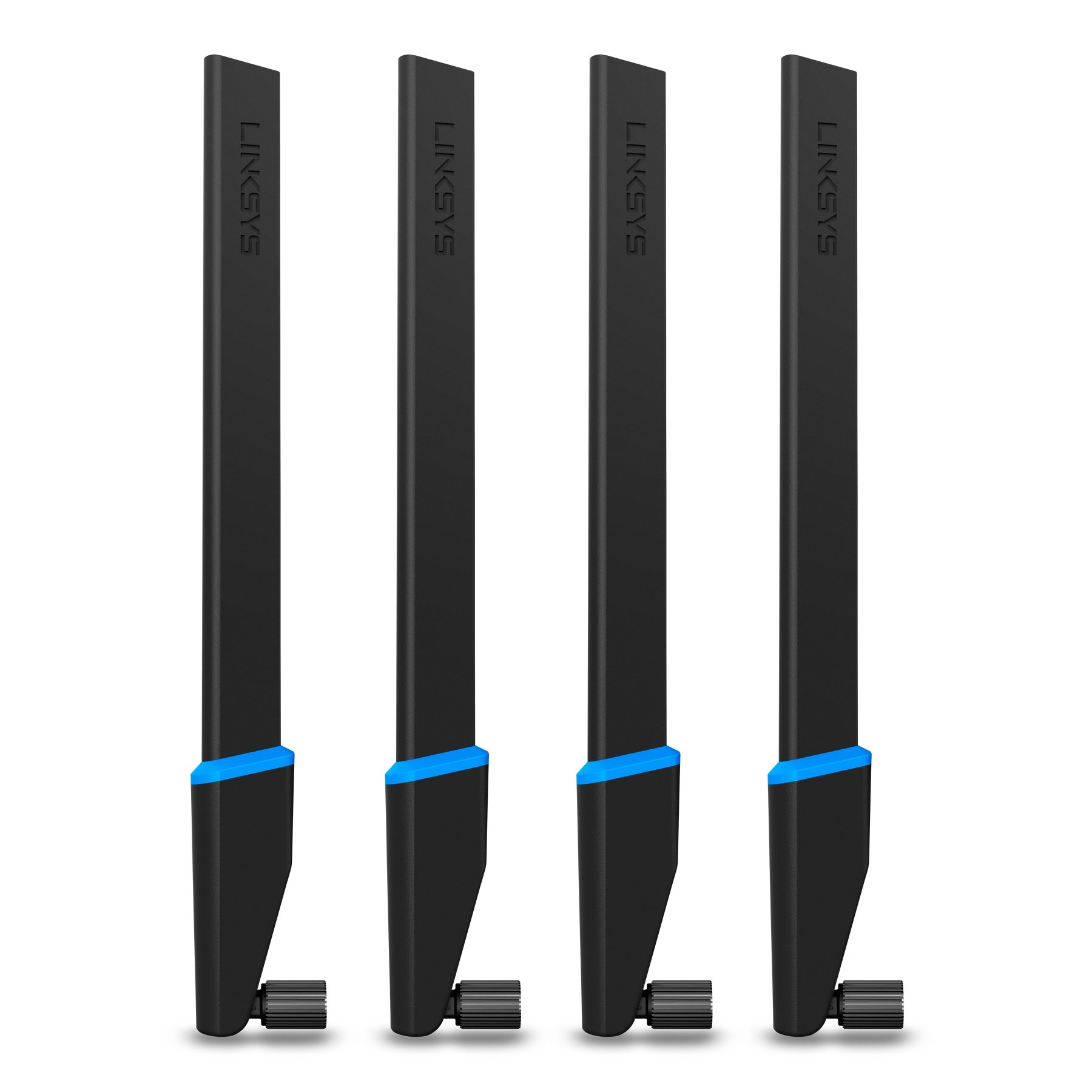 Linksys High-Gain Antennas, 4-Pack (WRT004ANT) by Linksys