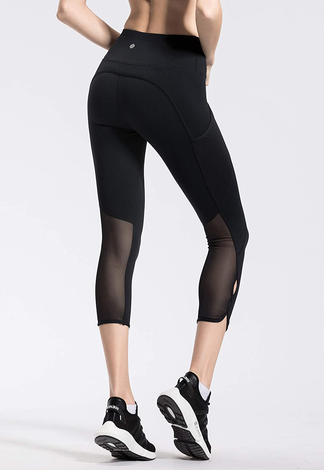 QUEENIEKE Femme 22 Legging de Sport Pantalon pour Course Yoga Pilate Gymnase