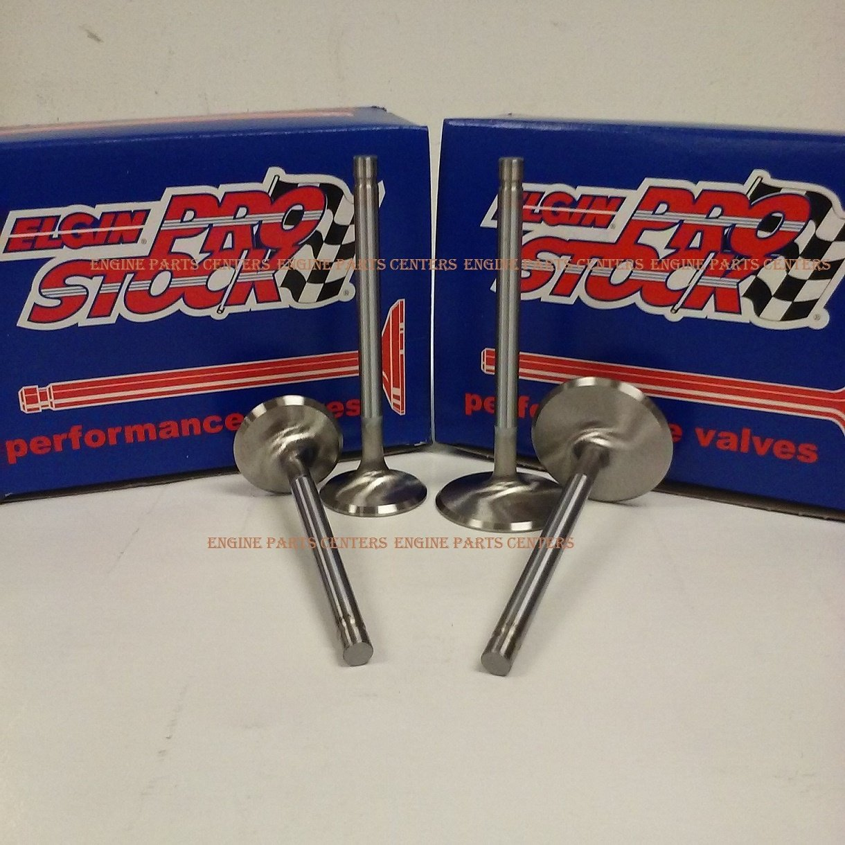 New Stainless Steel Valve Set 1.72' Exhaust & 2.065' Intake Chevy bb 396 427 454 (2.065'/1.720' INT/EXH) Elgin Industries