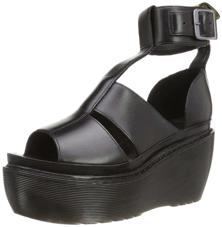 Dr. Martens Women's Bessie Sandals,Black,9 M UK 11 B(M) US