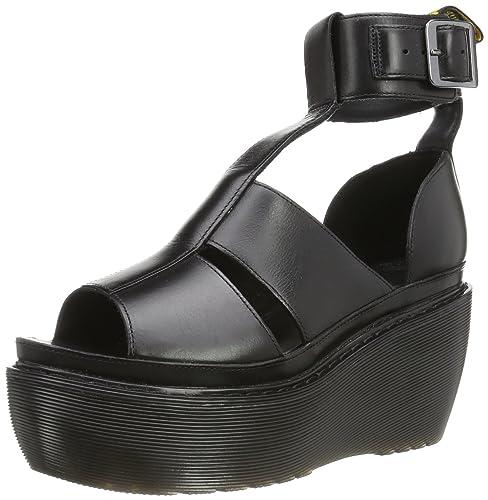 5b0cddd5 Dr. Martens Women's Bessie Sandals,Black,9 M UK / 11 B(M) US: Amazon ...