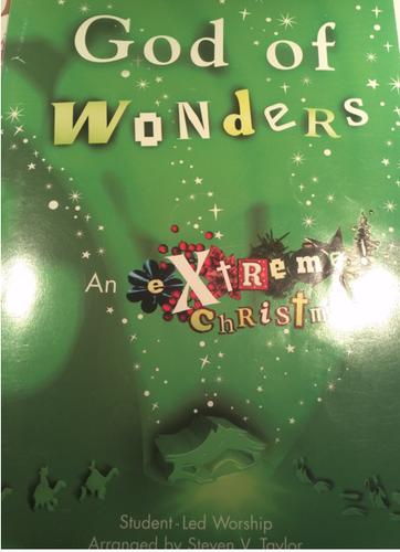 God of Wonders (An eXtreme! Christmas) pdf