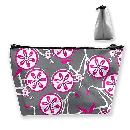 Bolsa de Maquillaje con patrón de Bicicletas Decorativas ...