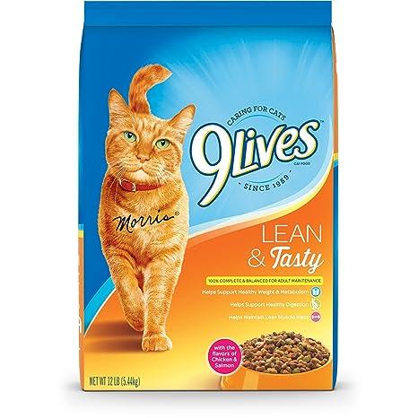 Comida Seca para Gatos de 9 Lives