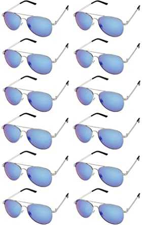 3f655dd08b510 AVIATOR SUNGLASSES - Classic   Stylish Retro Sunglasses Bulk Wholesale (12  Pack)
