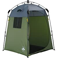 Lumaland Outdoor Pop Up Shower Tent Dressing Tent Privacy Toilet Tent Standing Camping 155x155x220 cm