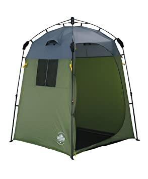 Lumaland Outdoor C&ing Shower Tent Dressing Tent Toilet Tent Quick Up System Sturdy Green  sc 1 st  Amazon UK & Lumaland Outdoor Camping Shower Tent Dressing Tent Toilet Tent ...