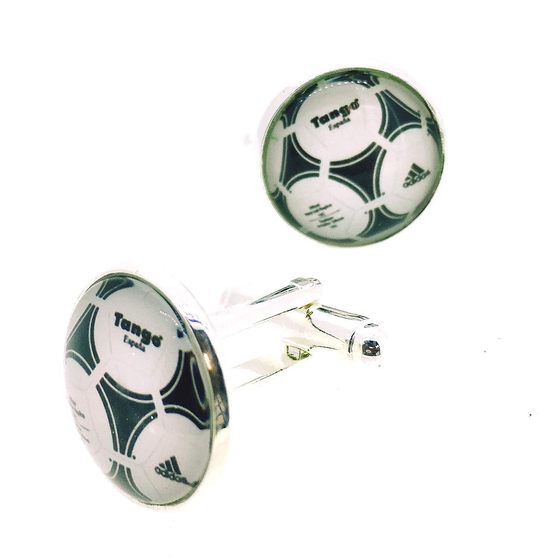 Gemelos de Camisa Magglass Balón Tango Mundial España 82 Spain ...