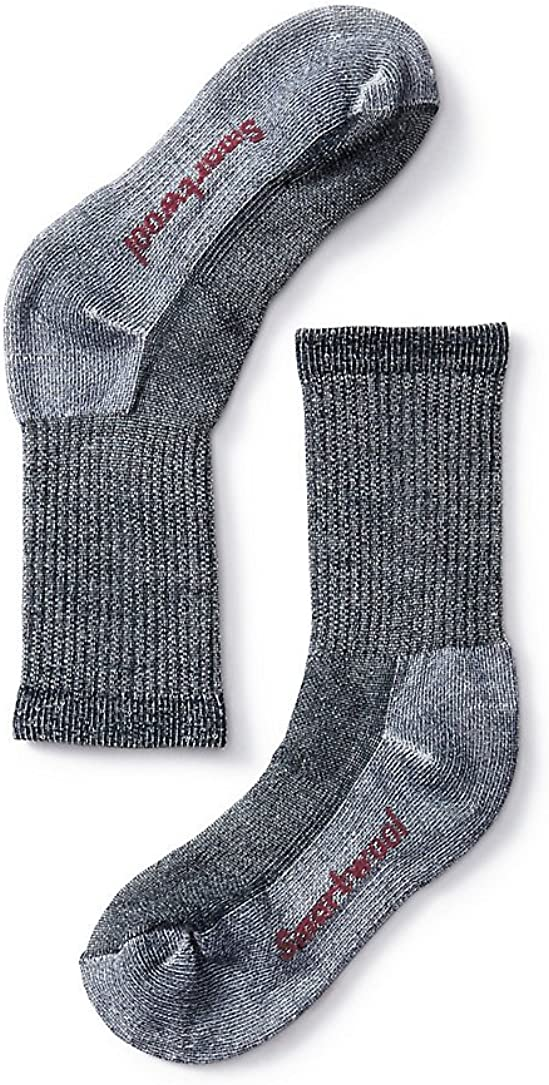 Smartwool Kids' Hike Crew Sock - Merino Wool Medium Cushion Sock for Boys and Girls
