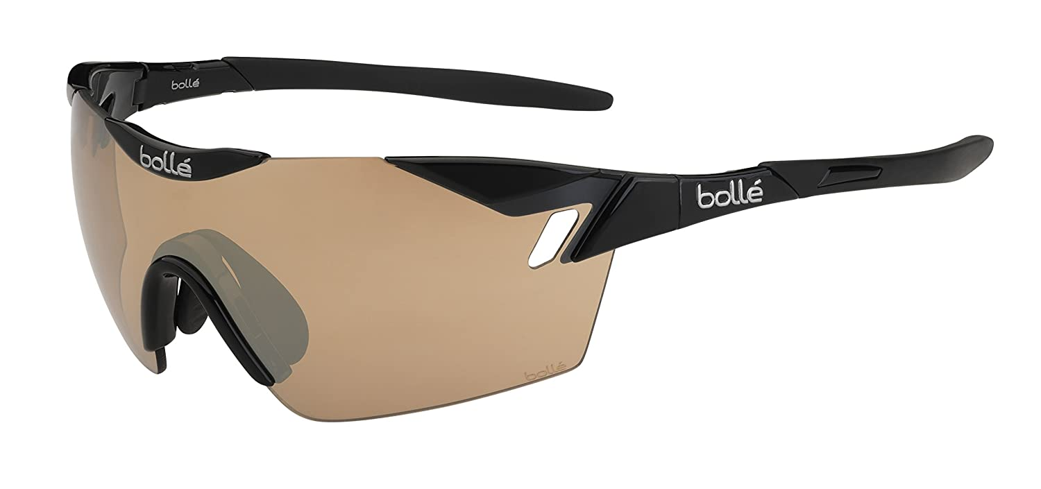 Bollé 6Th Sense Gafas, Unisex adulto, Negro (Shiny Black/Gray), M/L: Amazon.es: Deportes y aire libre