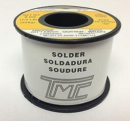 TMC Solder Wire Rosin-Core - 60/40 - 1/2lb Roll -
