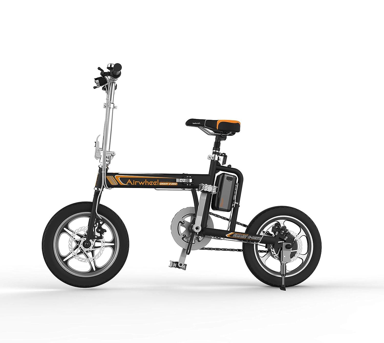 Airwheel R5 簡単 折りたたみ自転車 16インチ パナソニック製30.5v 18Ah バッテリー 電動アシスト自転車 (ブラック)   B07RWX8KG1
