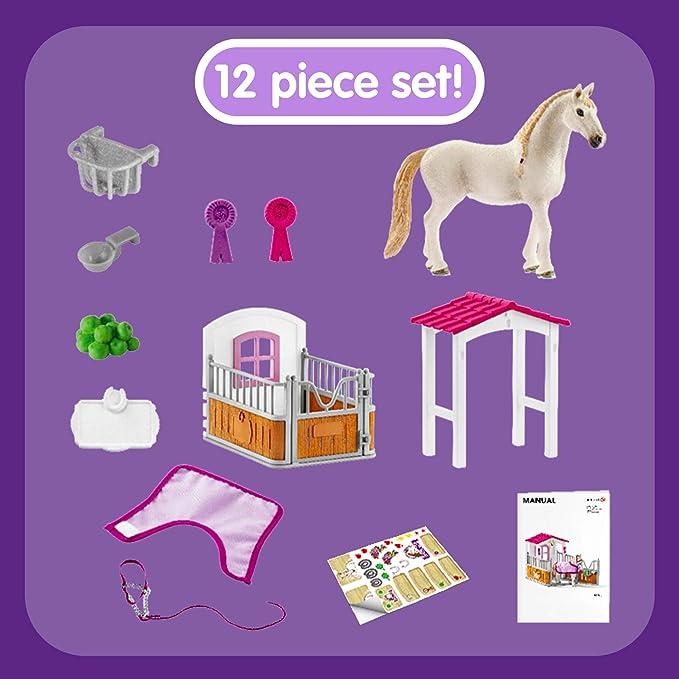 SCHLEICH Horse Club 42368 pferdebox lusitano giumenta personaggio del gioco cavallo personaggio animale