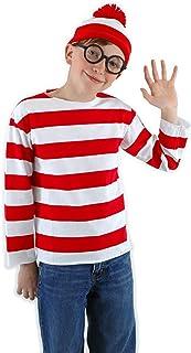 JerriyCostumes Kids Whereu0027s Waldo Wenda Kit  sc 1 st  Amazon.com & Amazon.com: Kids Waldo Costume: Clothing