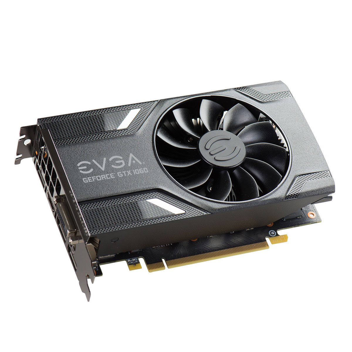 EVGA 06G-P4-6161-KR - Tarjeta gráfica (GeForce GTX 1060, 6 GB, GDDR5, 192 bit, 7680 x 4320 Pixeles, PCI Express x16 3.0): Amazon.es: Informática