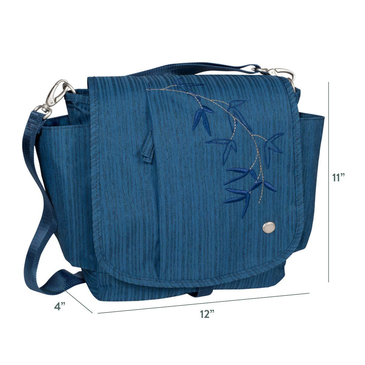 HAIKU Womens to Go Convertible Eco-Friendly Crossbody Travel Messenger Bag