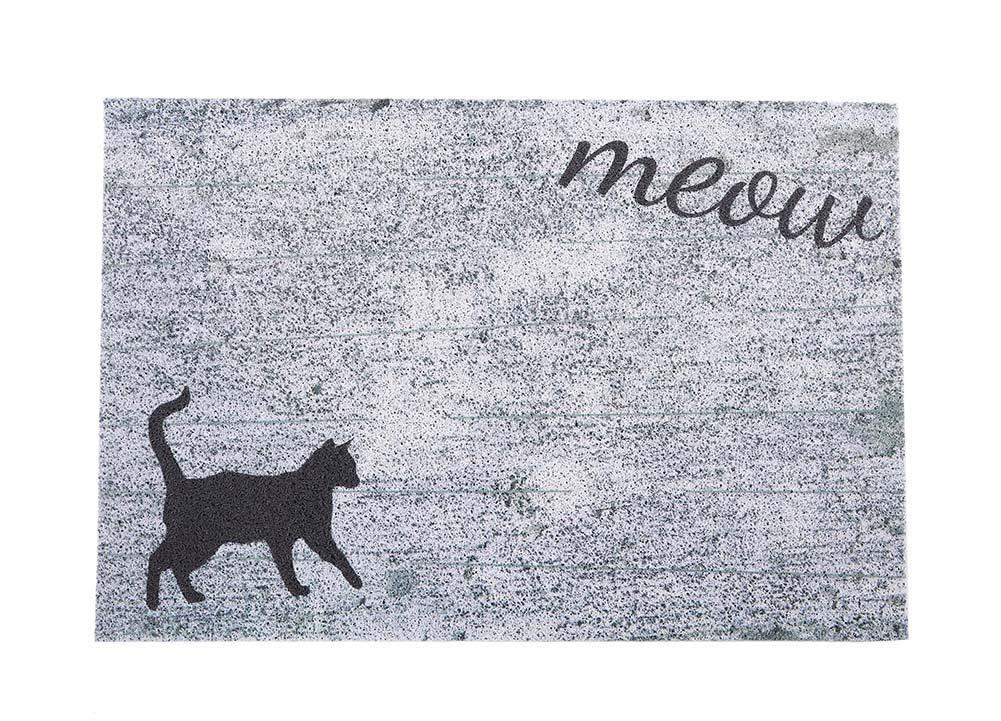 """Darkyazi 23.6"""" x 35.4"""" Colorful Doormats Entrance Front Door Rug Funny Outdoors/Indoor/Bathroom/Kitchen/Bedroom/Entryway Floor Mats,Non-Slip Rubber (Cat)"""