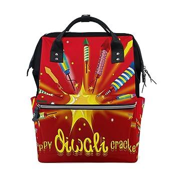 Amazon.com: MaMacool Diwali Crackers - Mochila para pañales ...
