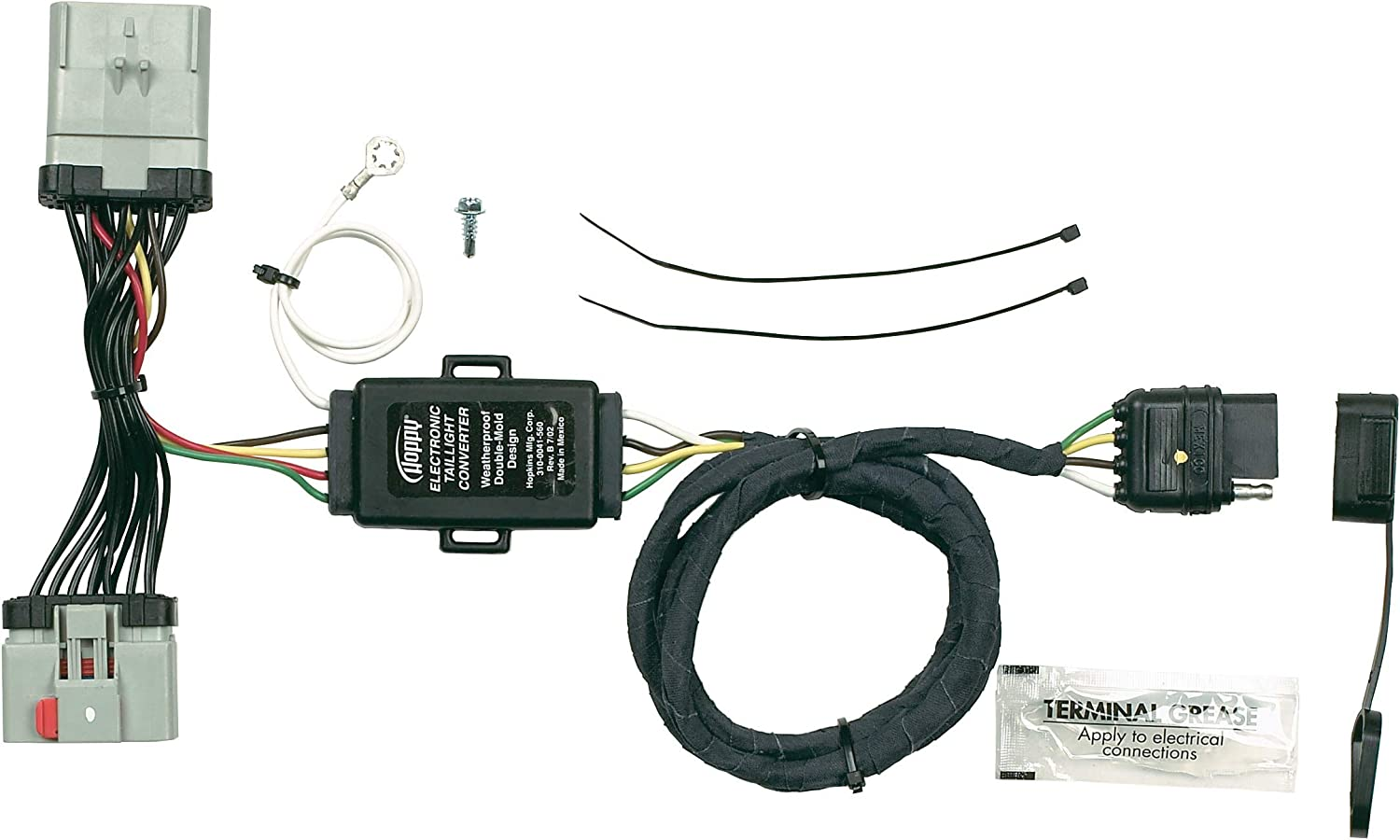 Amazon.com: Hopkins 42475 Plug-In Simple Vehicle Wiring Kit: Automotive  Amazon.com