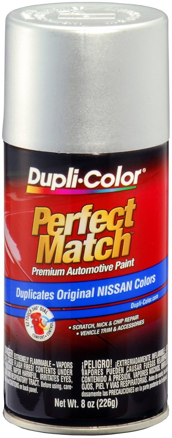 Dupli-Color BNS0601-6 PK (EBNS06017-6 PK) Silver Metallic Nissan Perfect Match Automotive Paint - 8 oz. Aerosol, (Case of 6)