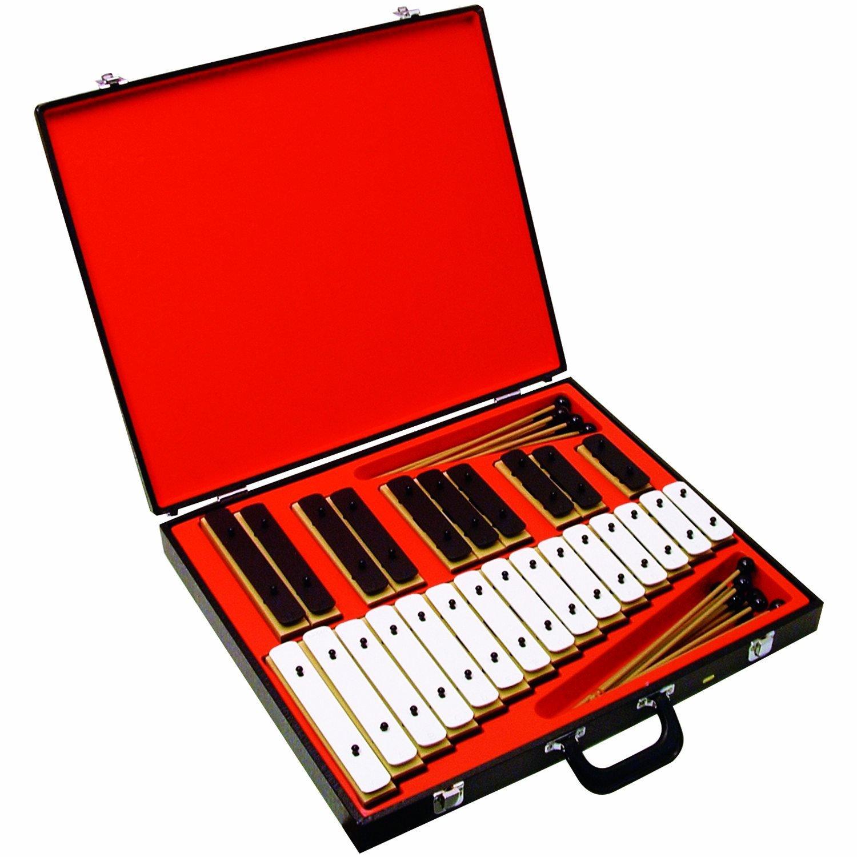 25 Resonator Musical Bell Set with bonus storage case (Age 3+)