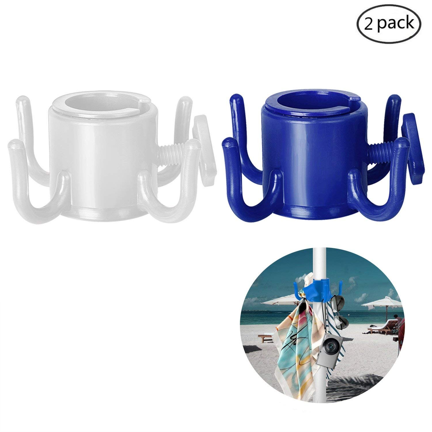 Sun Gear Beach Umbrella Sand Anchor Use In Sand Or Soft Ground Fits Most Umbrellas Very Easy To Use Strong Lightweight Blue