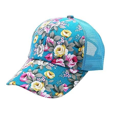 ESHOO Snapback Baseball Cap Floral Perforated Ball Caps Golf Hats Summer  Mesh Hat for Women Teens Girls 6 Colors  Amazon.co.uk  Kitchen   Home 3274b67a2bb