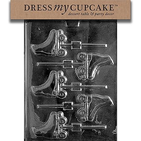 Amazon.com: Vestido My Cupcake Chocolate Candy Mold, patines ...