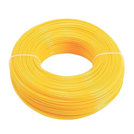 Cable redondo de nailon para trabajos pesados de 2,4 mm x 100 m ...