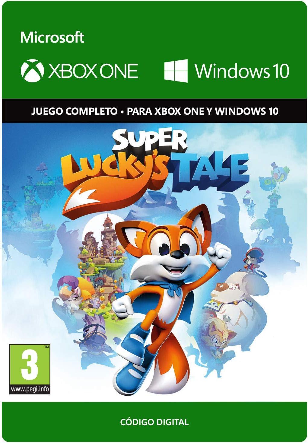 Super Luckys Tale | Xbox One/Windows 10 PC - Código de descarga: Amazon.es: Videojuegos