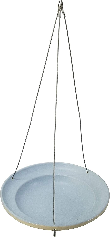 Dehner Natura Stilo - Bebida para pájaros Silvestres, diámetro de 25 cm, Altura de 5,5 cm, Juguete de Piedra, Color Azul