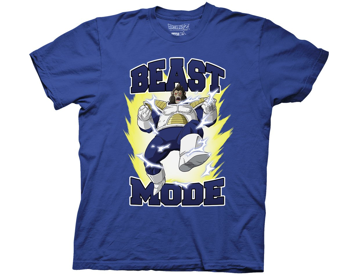 Dragon Ball Z Vegeta Beast Mode Adult Tshirt