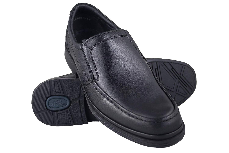 TALLA 43 EU. Zerimar Zapatos Hombres | Zapatos de Piel | Zapatos Vestir | Zapatos Hostelería | Zapatos Confortables | Zapatos de Camareros