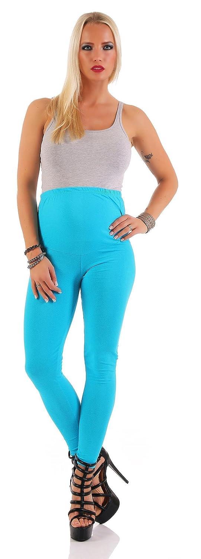 MAMA Umstands Leggings in vielen Farben Baumwolle Gr. S M L XL XXL 3XL 1060