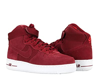 Nike AIR FORCE 1 HIGH  07 mens fashion sneakers bstn_315121 610_9.5   UNIVERSITY RED/TEAM RED WHITE